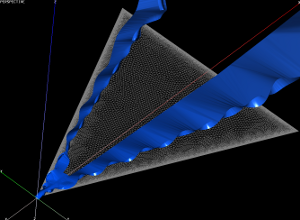 Streamsurface Around Delta Wing